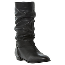 Buy Dune Relissa Slouch Calf Boots Online at johnlewis.com