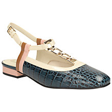 Buy Clarks Orla Kiely Barbara Leather Slingback Pumps Online at johnlewis.com