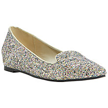 Buy Dune Luiza Slip On Flat Shoes, Multi Online at johnlewis.com