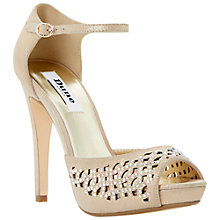 Buy Dune Hottie Suede High Stiletto Heel Sequin Detail Sandals Online at johnlewis.com