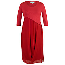 Buy Chesca Jersey Chiffon 3/4 Sleeve Dress Online at johnlewis.com