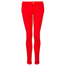 Buy Mango Skinny Newpaty Jeans, Bright Red Online at johnlewis.com