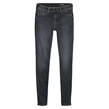 Buy Mango Skinny Olivia Jeans, Dark Blue Online at johnlewis.com