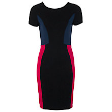 Buy French Connection Manhattan Dress, Black / Berry /  Utility Blue Online at johnlewis.com