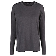 Buy Mango Metal Thread Jumper, Medium Grey Online at johnlewis.com