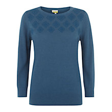 Buy NW3 by Hobbs Silvie Jumper, Airforce Blue Online at johnlewis.com