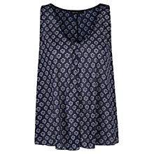 Buy Mango Tie Print Sleeveless Top Online at johnlewis.com