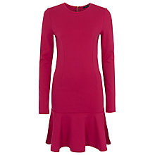 Buy French Connection Orchard Solid Dress, Berry Punch Online at johnlewis.com