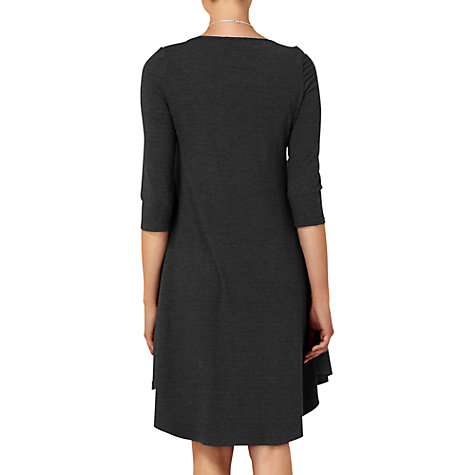 Buy Phase Eight Terrie Trapeze Dress, Charcoal Online at johnlewis.com