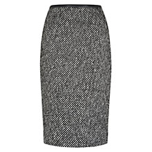 Buy Hobbs London Nave Skirt, Black Ivory Online at johnlewis.com