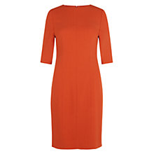 Buy Hobbs London Calla Dress, Pumpkin Orange Online at johnlewis.com