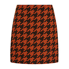 Buy Hobbs London Tian Skirt, Pumpkin Choc Online at johnlewis.com