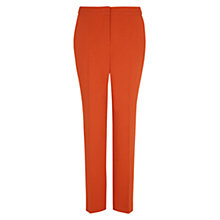 Buy Hobbs London Eaton Trousers, Pumpkin Orange Online at johnlewis.com