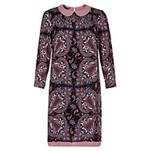 Buy NW3 by Hobbs Cecilia Dress, Mulberry Multi Online at johnlewis.com