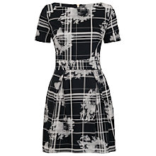 Buy French Connection Wilderness Check Dress, Black / Multi Online at johnlewis.com