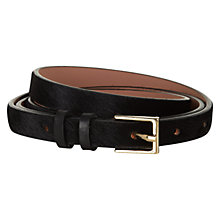 Buy Hobbs London Hampton Belt, Black Online at johnlewis.com
