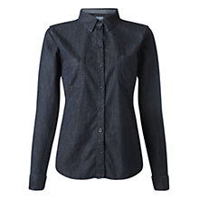 Buy Jigsaw Dark Wash Denim Shirt, Indigo Online at johnlewis.com