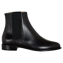 Buy Hobbs Logan Leather Chelsea Ankle Boots Online at johnlewis.com