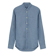 Buy Jigsaw Chambray Cutaway Collar Slim Shirt Online at johnlewis.com