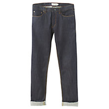 Buy Jigsaw Straight Fit Denim Jeans, Blue Online at johnlewis.com