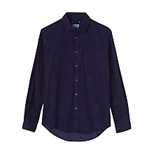 Buy Jigsaw Garment Dye Corduroy Shirt Online at johnlewis.com