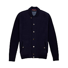 Buy Ted Baker Alloway Shawl Collar Cardigan, Navy Online at johnlewis.com