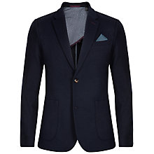 Buy Ted Baker Esna Jersey Blazer, Navy Online at johnlewis.com