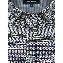 Buy Ted Baker Wudda Shirt, Blue Online at johnlewis.com