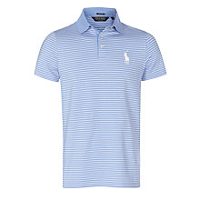 Buy Polo Golf by Ralph Lauren Pro-Fit Performance Polo Shirt, Blue Rain Online at johnlewis.com
