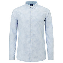 Buy Scotch & Soda Slim Fit Faded Camo Shirt, Camo Stripe Online at johnlewis.com