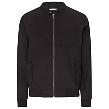 Buy Selected Homme Lester Bomber Jacket, Black Online at johnlewis.com
