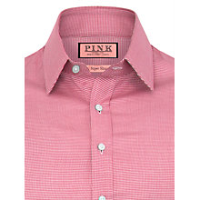 Buy Thomas Pink Talavera Textured Shirt, Pink/White Online at johnlewis.com