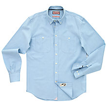Buy Thomas Pink Savio Stripe Shirt, Pale Blue/White Online at johnlewis.com