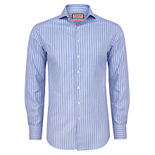 Buy Thomas Pink Uffington Stripe Long Sleeve Shirt, Pale Blue/White Online at johnlewis.com