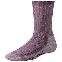 Buy SmartWool Women's Hike Light Crew Socks, Purple Online at johnlewis.com