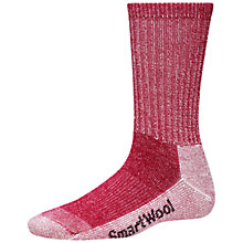 Buy SmartWool Women's Hike Light Crew Socks, Red Online at johnlewis.com