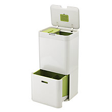 Buy Joseph Joseph Intelligent Waste Separation & Recycling Totem Bin 60L Online at johnlewis.com