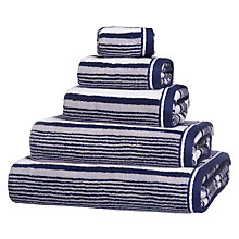 Buy John Lewis Coastal Deckchair Stripe Towels, Multi Online at johnlewis.com