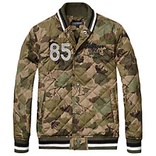 Buy Tommy Hilfiger Boys' Owen Camouflage Jacket, Khaki Online at johnlewis.com