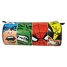 Buy Marvel Face Off Pencil Case, Multi Online at johnlewis.com