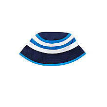 Buy John Lewis Colour Block Bucket Hat, Navy/Blue Online at johnlewis.com