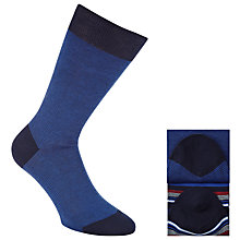 Buy John Lewis Egyptian Cotton Blend Socks, Pack of 2, One Size Online at johnlewis.com