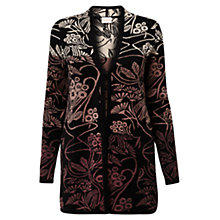 Buy East Liang Jacquard Long Cardigan, Pebble Online at johnlewis.com