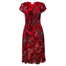 Buy East Bubble Dress, Scarlet Online at johnlewis.com