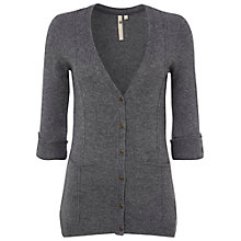 Buy White Stuff Boucle Cardigan, Cobblestone Online at johnlewis.com