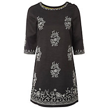 Buy White Stuff Embroidered Tunic Dress, Greyhound Online at johnlewis.com