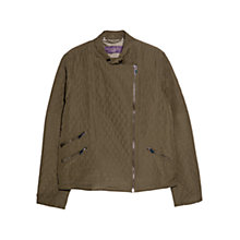 Buy Violeta by Mango Panel Husky Jacket, Beige Online at johnlewis.com