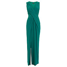 Buy Coast Mona Maxi Dress, Forest Online at johnlewis.com