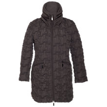 Buy Chesca Hood Bonfire Coat, Mink Online at johnlewis.com