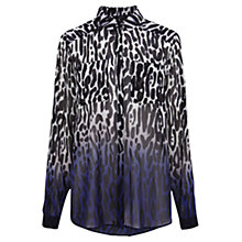 Buy Coast Rummell Dip Dye Blouse, Multi Online at johnlewis.com